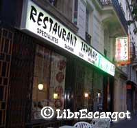 パリの日本レストラン