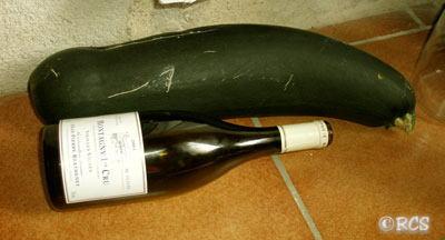 フランスの野菜は大きすぎる・・・ 2007/08/14