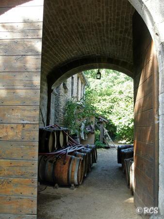 お城の入口