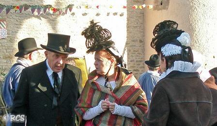 ブルゴーニュ南部のマコネ地域やブレス地域の民族衣装