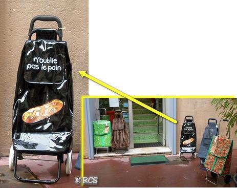 フランスのショッピングカート