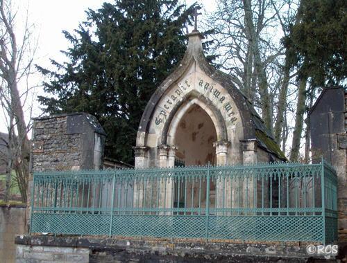 ラマルティーヌの墓地