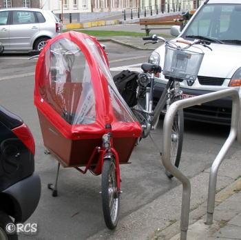乳母車スタイルの自転車