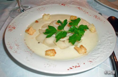 ホタテ貝の料理