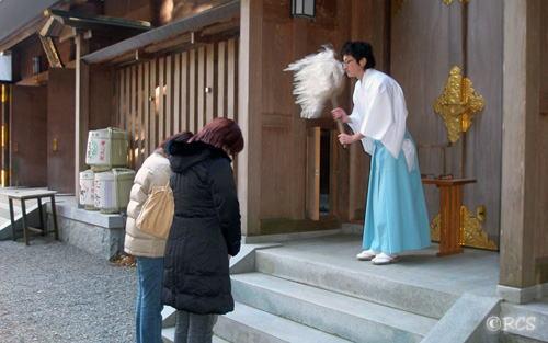 天岩戸神社でのお祓い