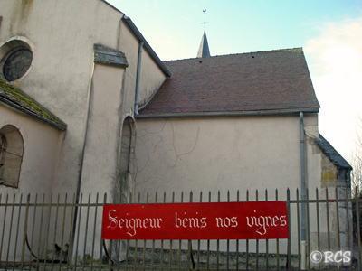 ミサが行われた教会
