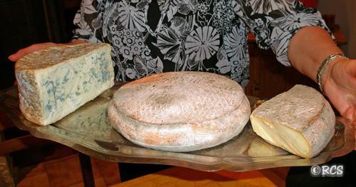 オーヴェルニュのチーズ