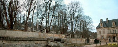 Château de Tanlayの門