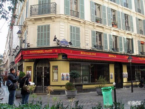 Restaurant Goldenberg, Rue des Rosiers
