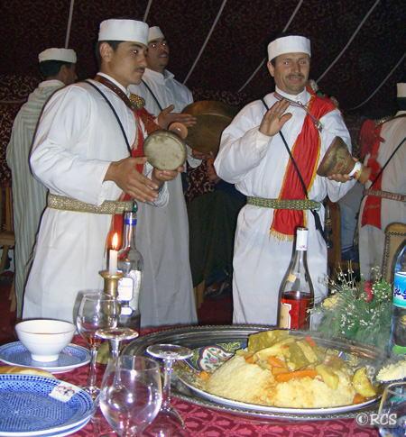 マラケッシュ(モロッコ)で食べたクスクス