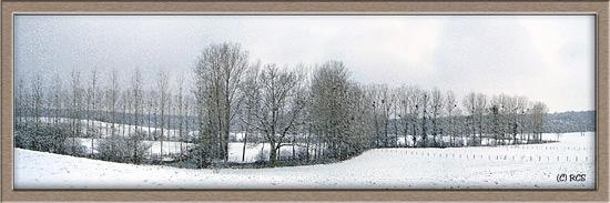 フランスは全国的に雪。パリは交通渋滞で大変そうですが、田舎には美しい雪景色が広がっています・・・