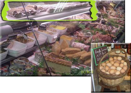 黄緑色で囲った枠の中がシャブリ名物のアンドゥイエット